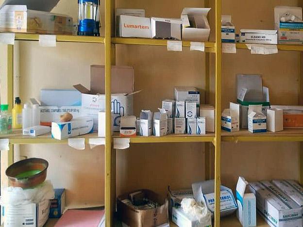 Gesundheitszentrum Medikamente