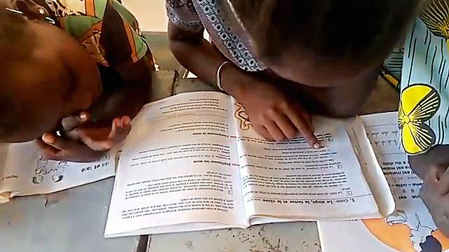 Schüler lesen vor